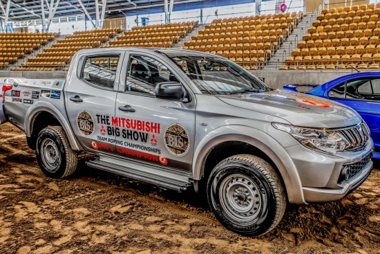 The Mitsubishi Big Show Team Roping Championships 2016